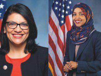 parlamentarias estadounidenses Rashiba Tlaib e Ilhan Omar